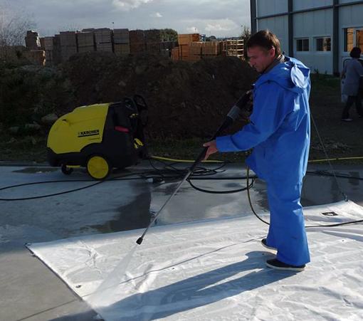 Lavage de voiles nettoyage entretien les gen ts d 39 or ateliers - Nettoyer voile de ciment ...